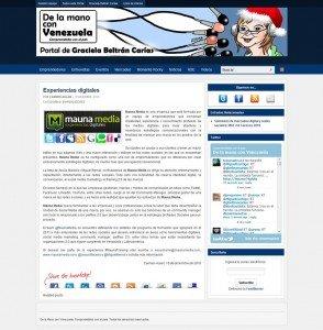 Entrevista Graciela Beltrán Carías con Mauna Media