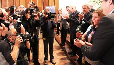 premiación del Concurso Ideas 2011