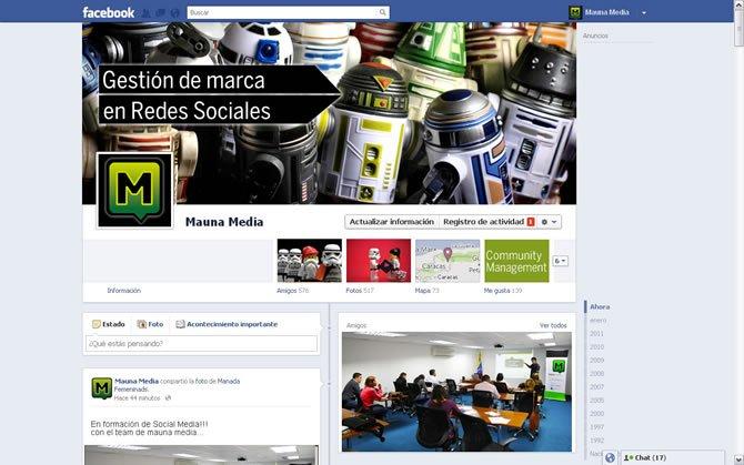El Nuevo Timeline de Facebook para Marcas