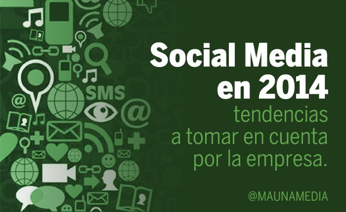 Social Media en 2014