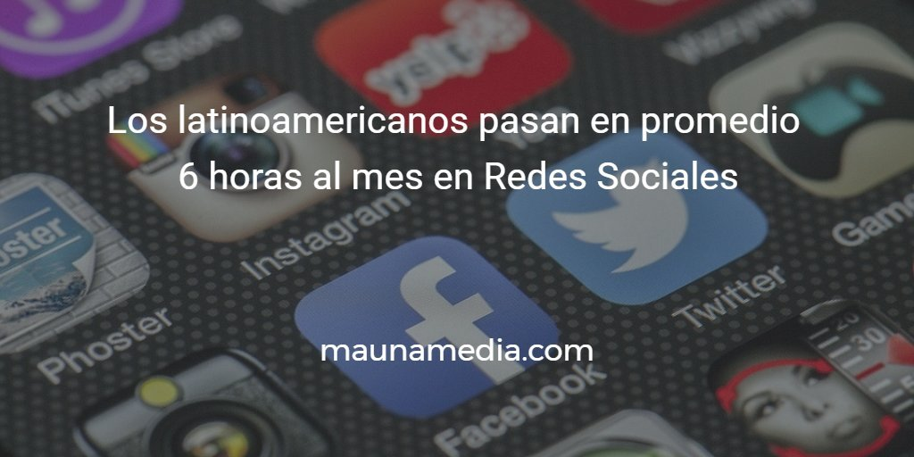 latinoamerica redes sociales