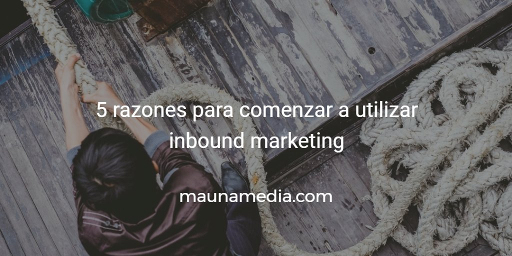 por que usar inbound marketing