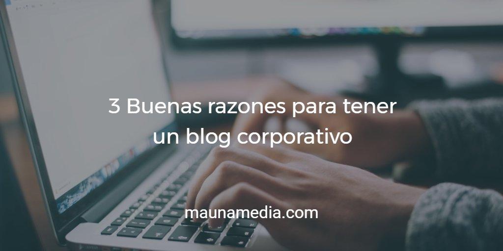 por que un blog