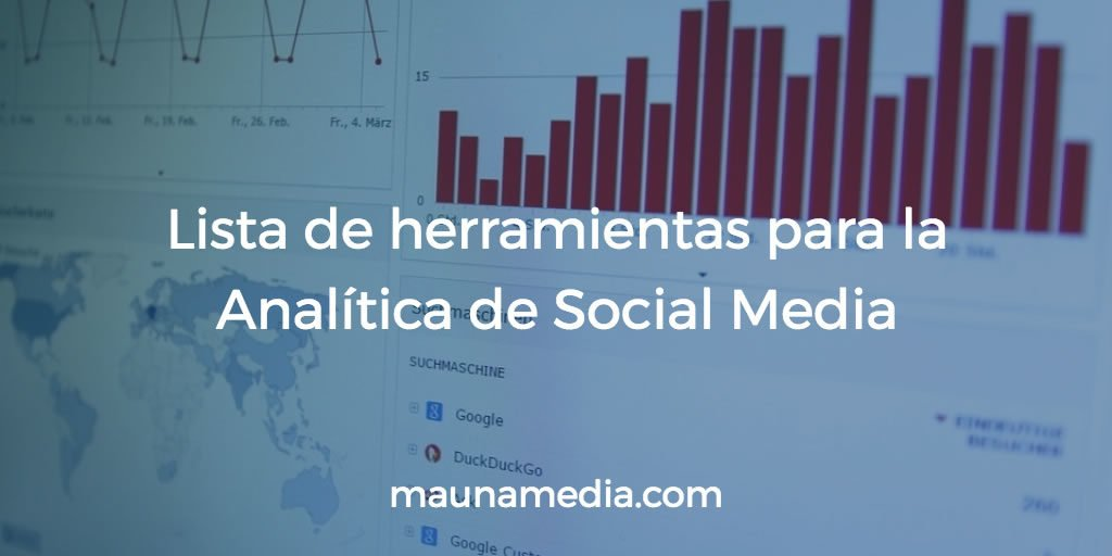 Herramientas para la analítica de social media