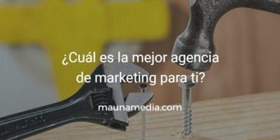 elegir agencia de marketing digital