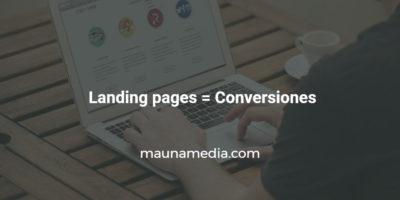 landing page que convierte