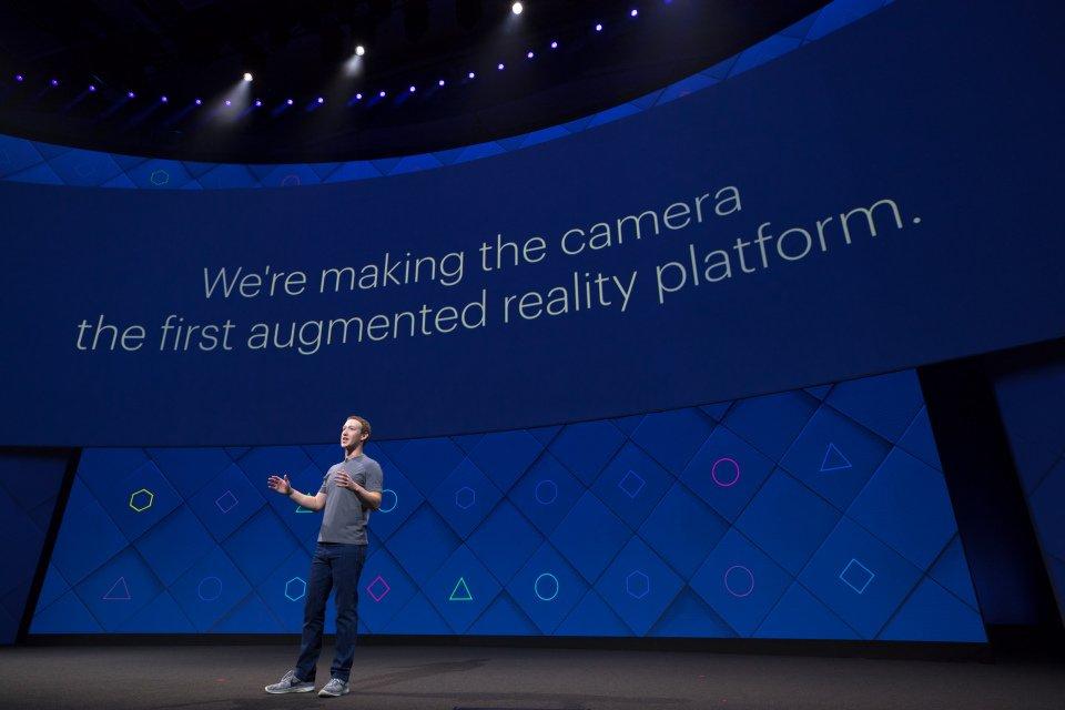 Facebook F8 realidad aumentada