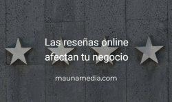 Reseñas online