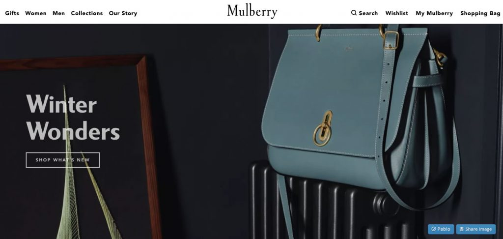 Mulberry Landing Page
