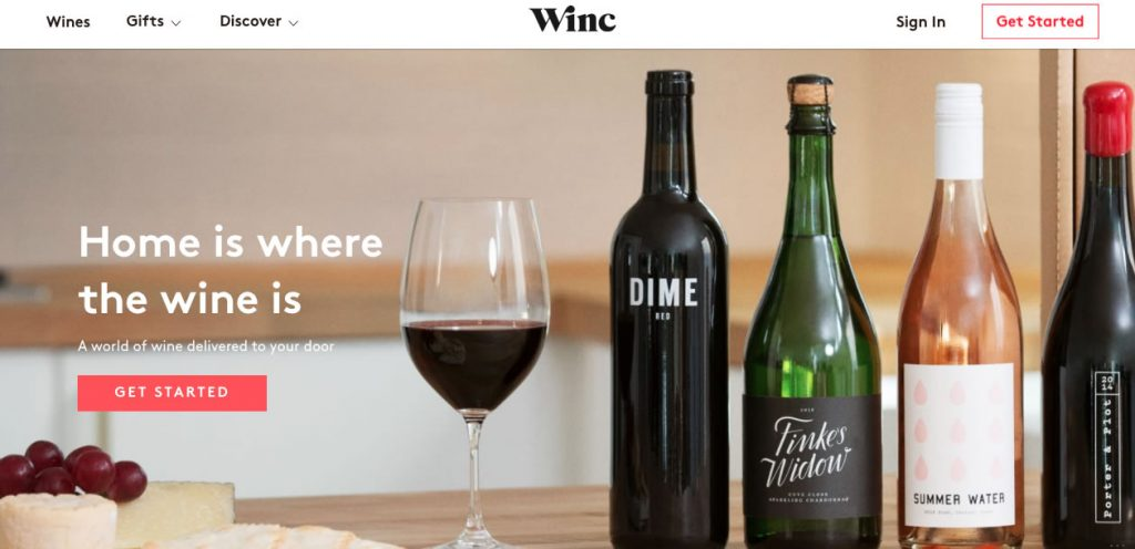 The WinC Landing Page
