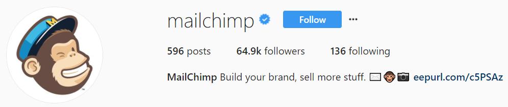 Instagram MailChimp