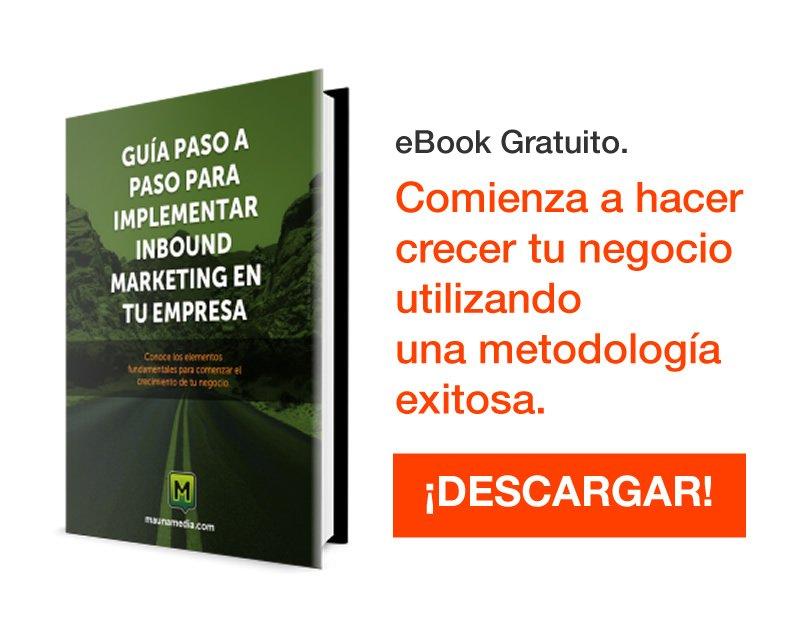 eBook Gratuito implementar inbound marketing