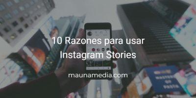 por qué Instagram Stories