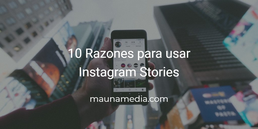 por qué Instagram Stories