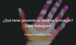cambio de imagen instagram