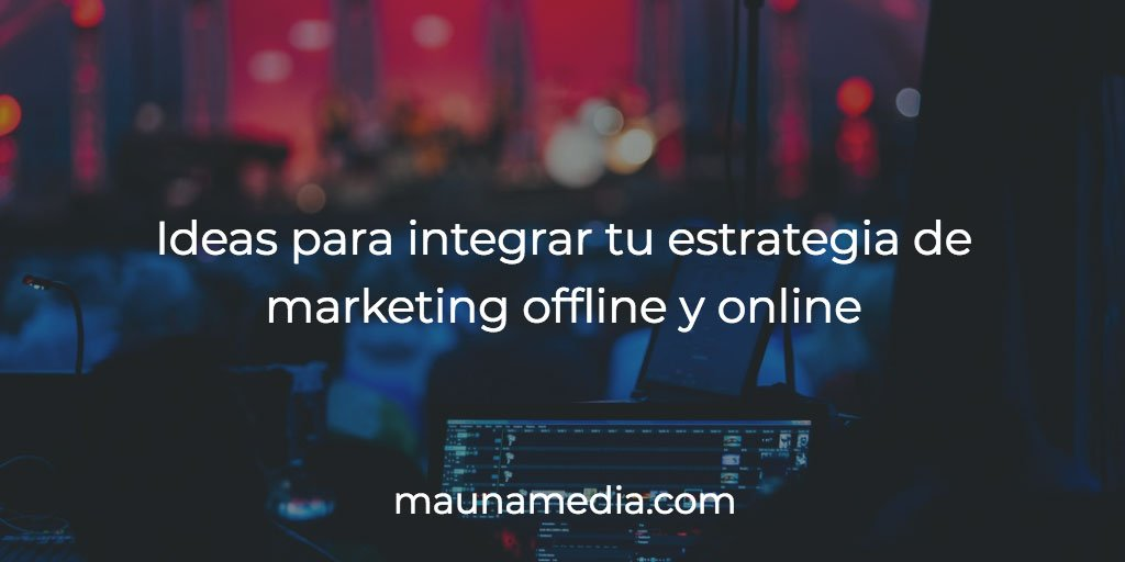 marketing offline y online