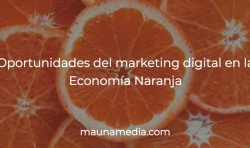 marketing digital economía naranja