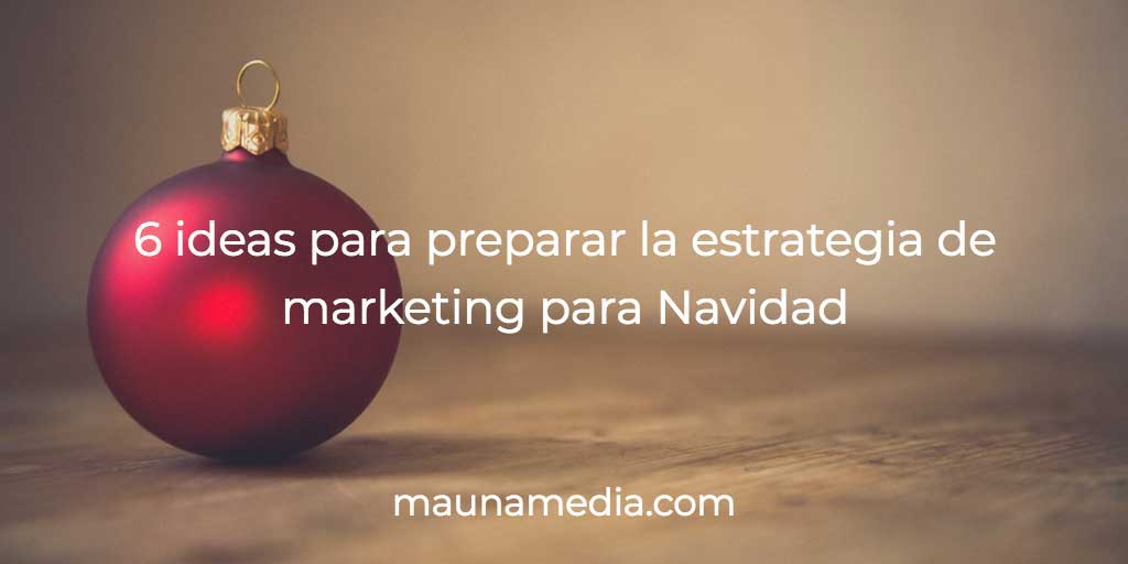 marketing para navidad