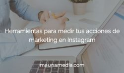 análisis de Instagram, herramientas