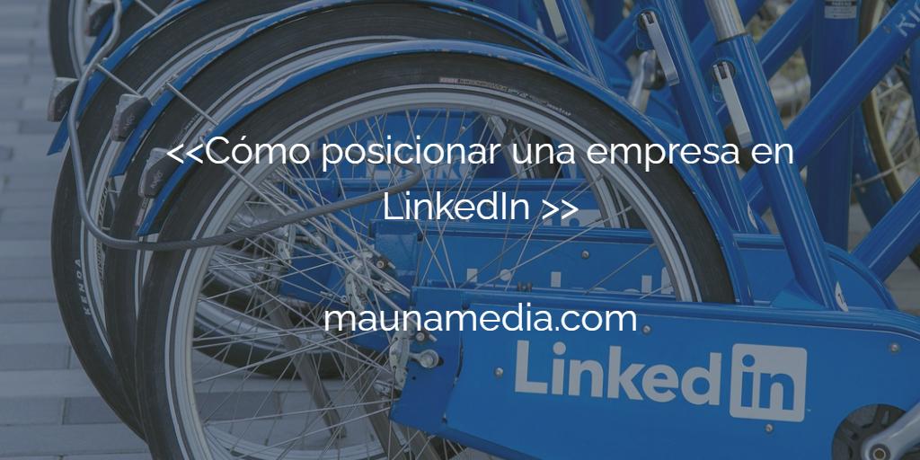 Empresa en LinkedIn