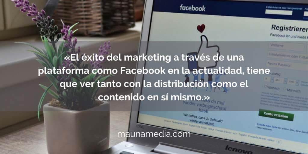 presupuesto de Facebook Ads